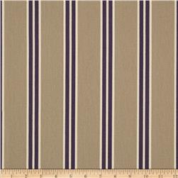 Hemming Stripe Canvas Tan/Plum