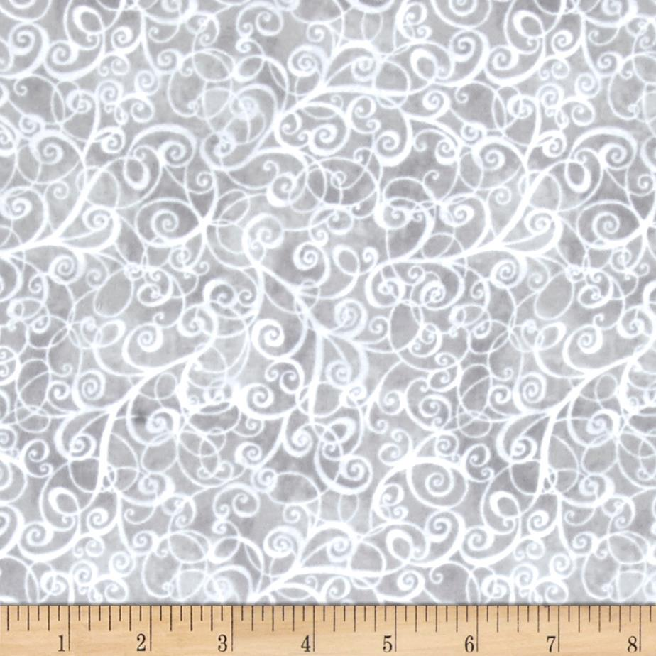 Timeless Treasures Flannel Breeze Grey