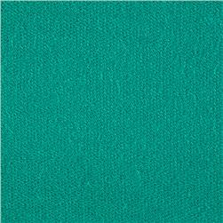 French Terry Solid Sea Green