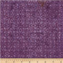 Timeless Treasures Tonga Batiks Calypso Kaleidoscope Purple