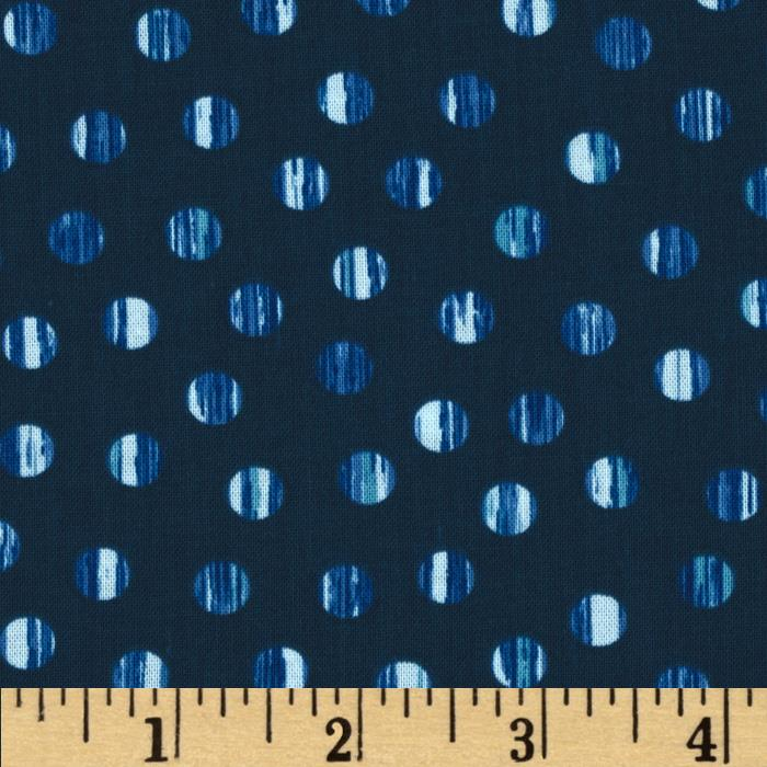 Normandy Court Tiny Dots Navy/Blue