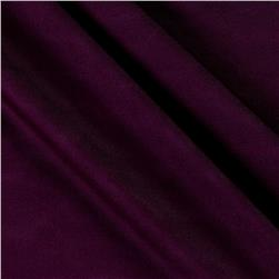 Poly Spandex Stretch ITY Knit Solid Plum