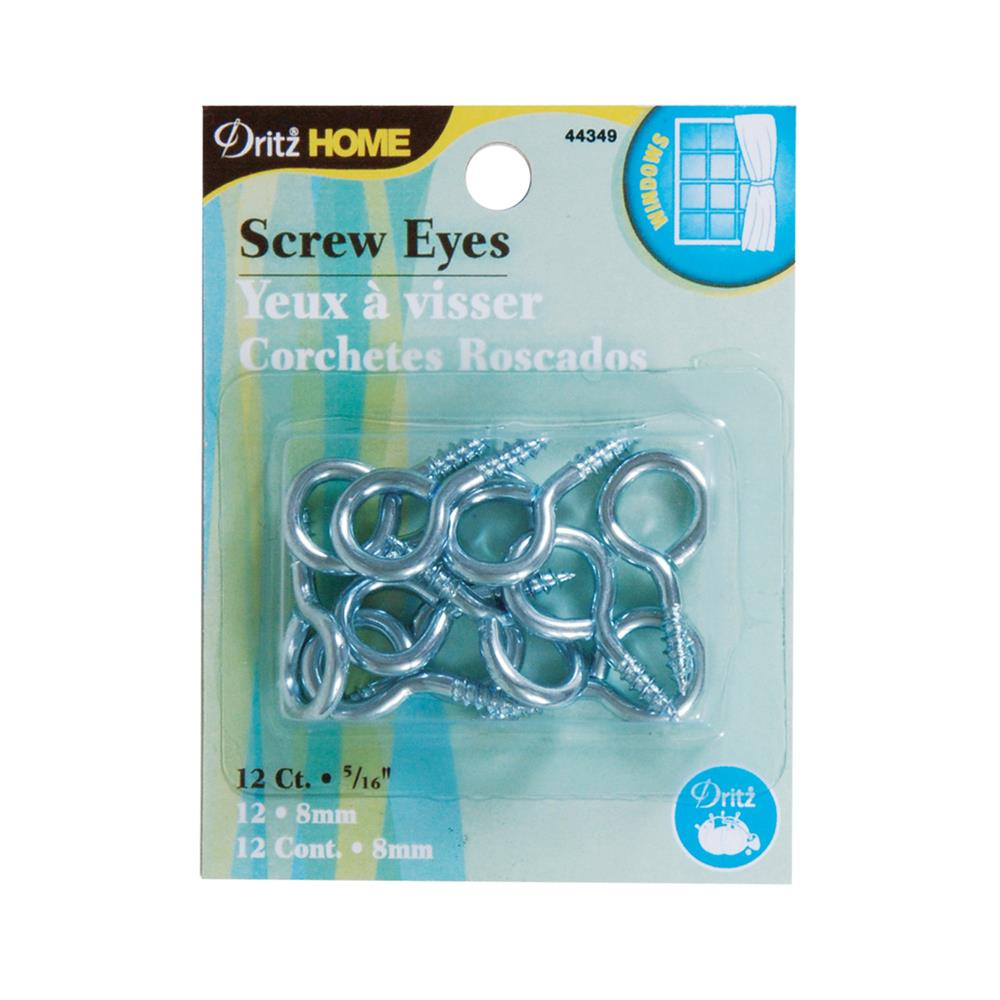 Screw Eyes 12/Pkg