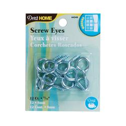 Dritz Home Screw Eyes 12/Pkg