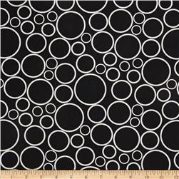 "108"" Wide Geo Circles Wide Black"