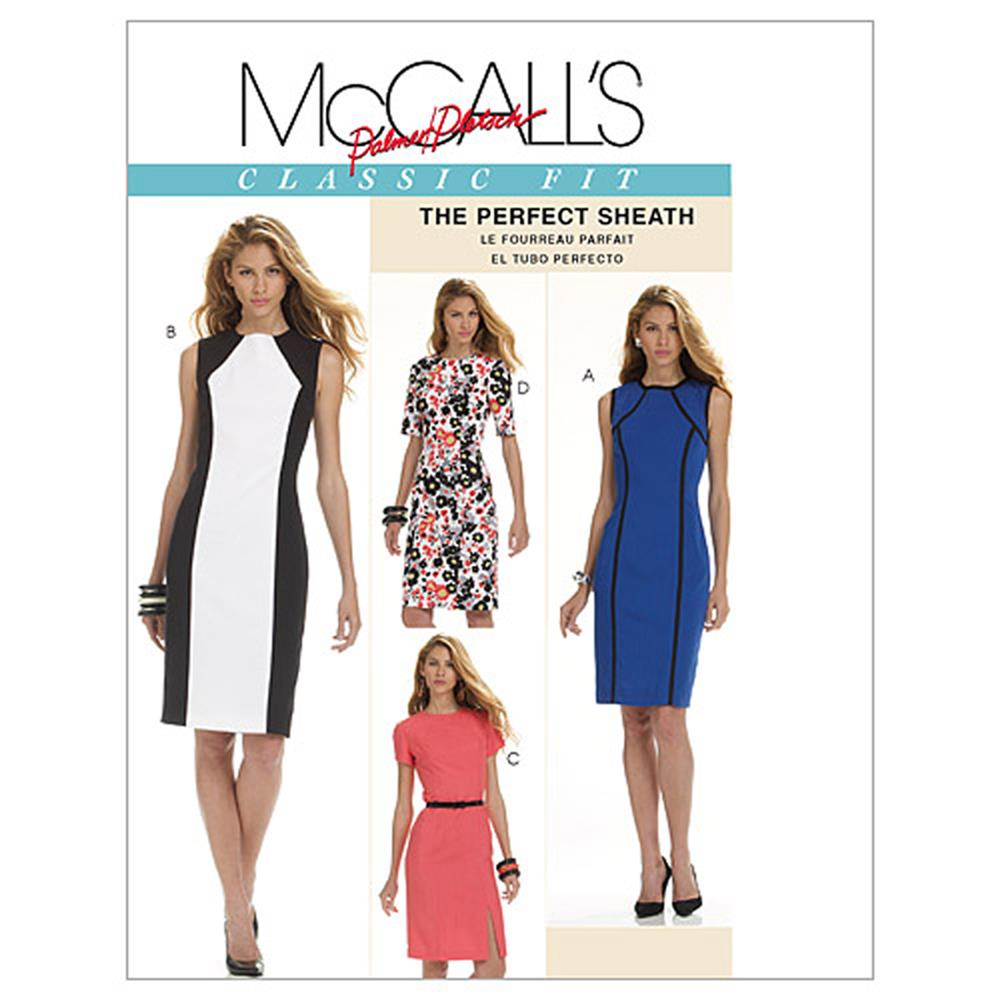 McCall's Misses' Dresses Pattern M6028 Size BB0