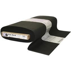 Heat'n Bond Woven Fusible - Soft - Black