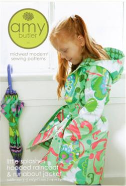 Amy Butler ''Little Splashes'' Raincoat & Jacket Pattern