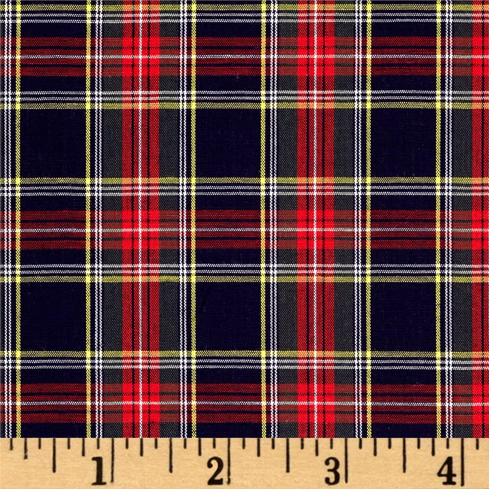 Kaufman Sevenberry Classic Plaids Multi Fabric