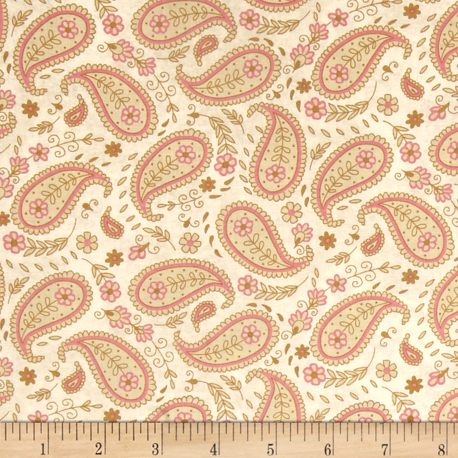 INOpets.com Anything for Pets Parents & Their Pets Garden Hideaway Paisley Tan Fabric