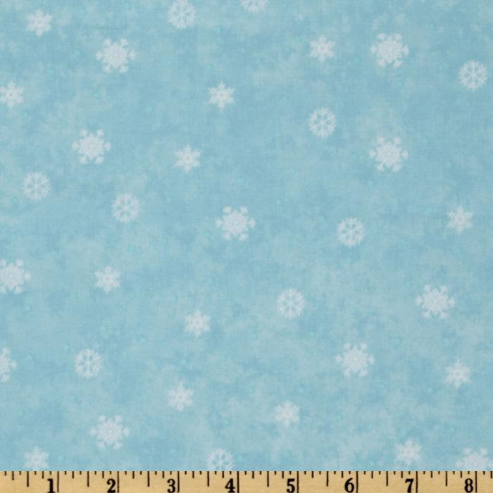 Winter Parade Snowflakes Light Blue