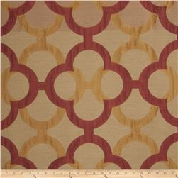 Fabricut Diego Lattice Faux Silk Spice