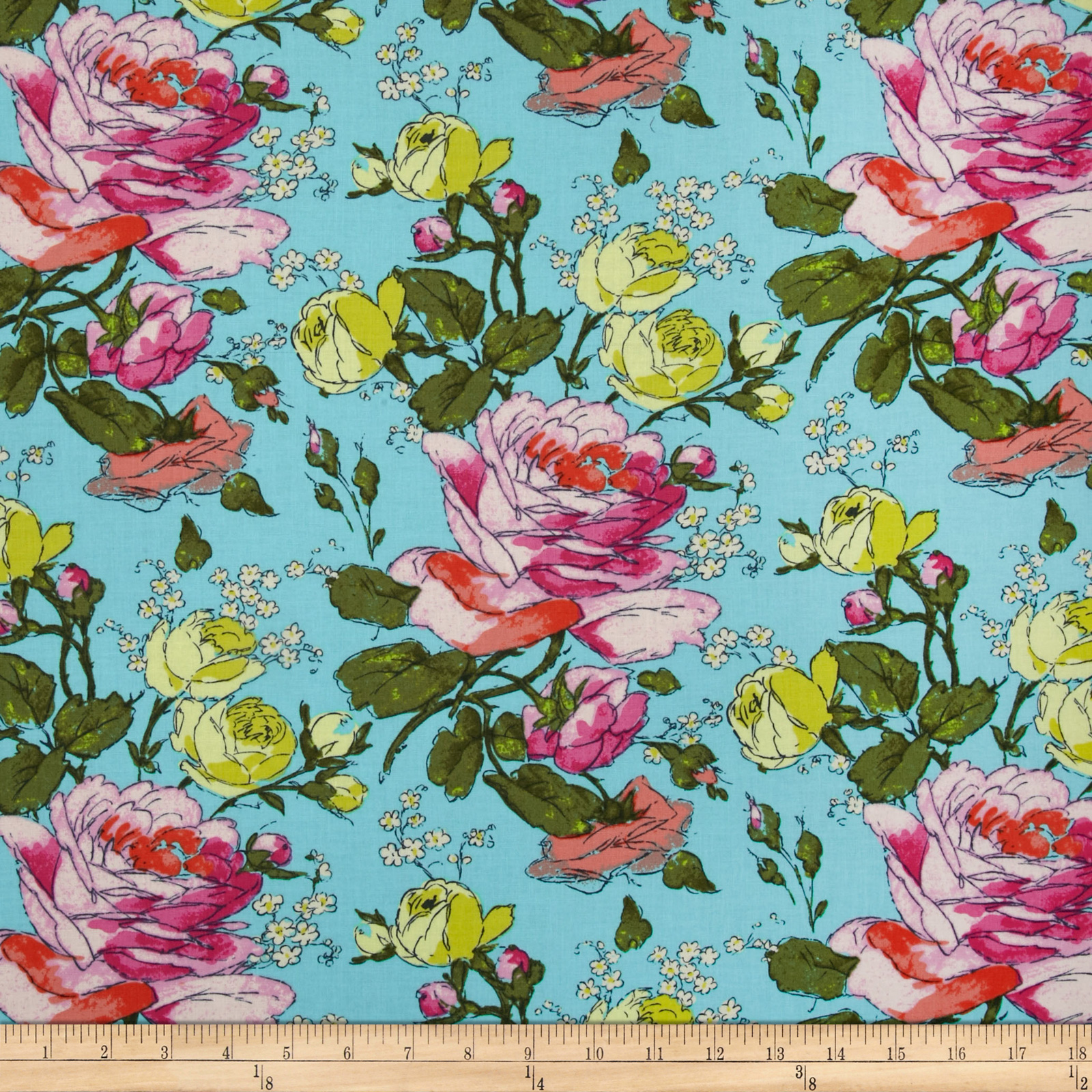 Amy Butler Alchemy Sketchbook Spring Fabric