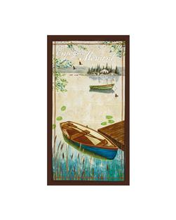 "Lakeside Retreat Large 24"" Panel Multi"