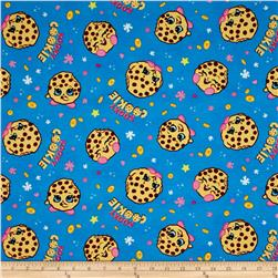 Moose Shopkins Kooky Cookie Toss Jersey Knit Blue