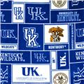 Collegiate Fleece University of Kentucky Blocks