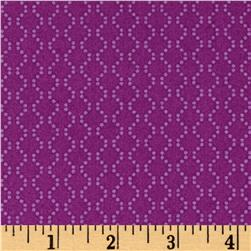 Windham Rumble Dotted Chain Purple