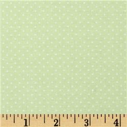 Sorbets Mini Dot Green Fabric