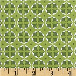 Riley Blake Modern Minis Circles Green