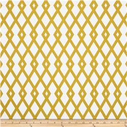 Robert Allen @ Home Graphic Fret Citrine Fabric