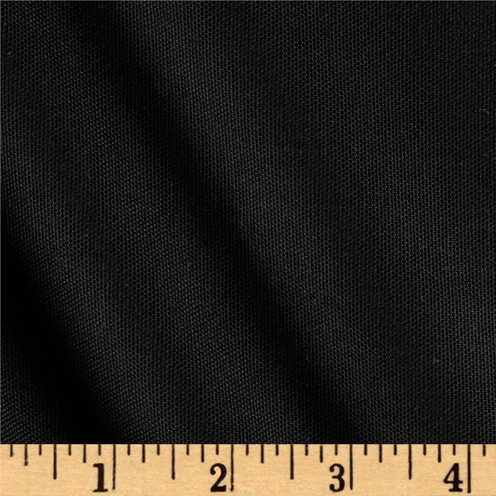 Ansley Home Decor Cotton Duck Solid Black