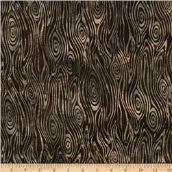 Bali Batiks Wood Grain Cappuccino Fabric