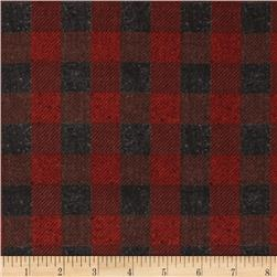 Penny Rose Menswear Check Red