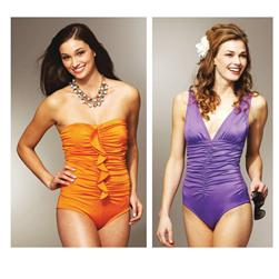 Kwik Sew Shirred Swimsuits Pattern