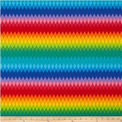 Harlequin Diamond Plaid Rainbow