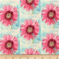 Every Living Thing Daisies Pink/Blue