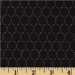 Rise N Shine Chicken Wire Black/Tan