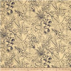 Outlander Toile Blue