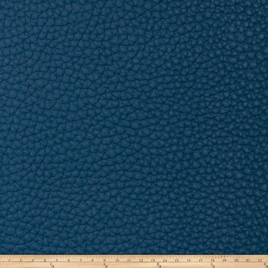 Fabricut Steel Faux Leather Ocean