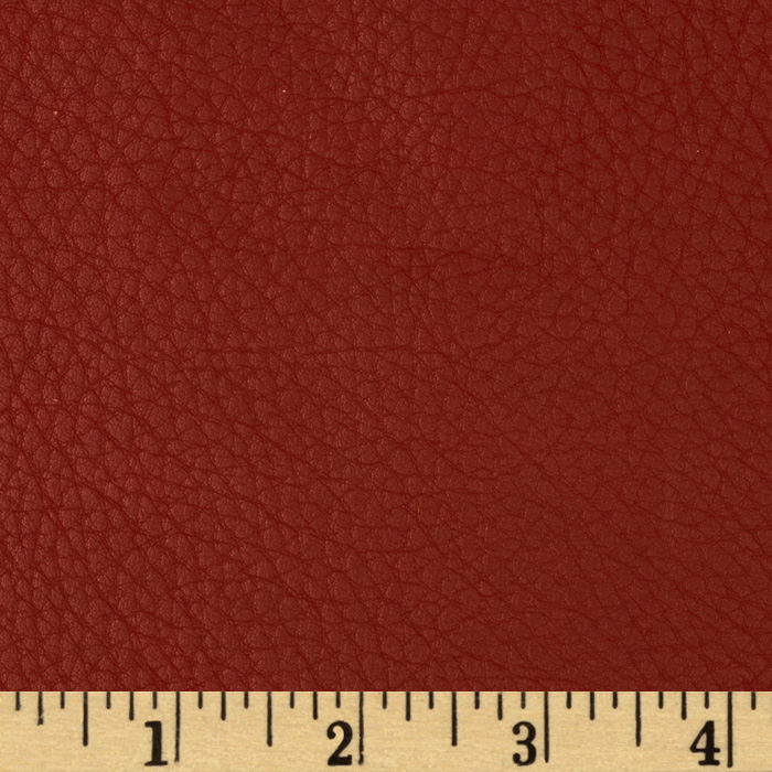 Deadwood faux leather red discount designer fabric for Red leather fabric