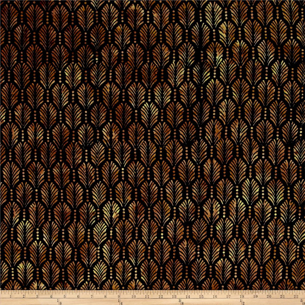 Wilmington Batiks Palm Texture Black/Brown
