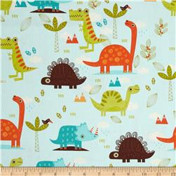 Riley Blake Home Decor Dinosaur Blue