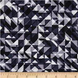 108 In. Quilt Wide Back Prisms Black