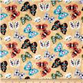 Moda Native Sun Butterflies Maize