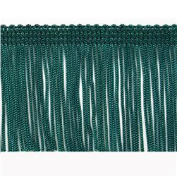 "2"" Chainette Fringe Trim Teal"