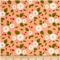 Moda Little Miss Sunshine Fresh Daisies Peach