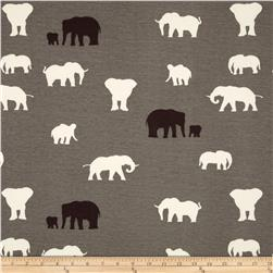 Birch Organic Serengeti Interlock Knit The Herd Shroom