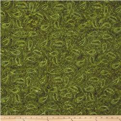 Timeless Treasures Tonga Batik Autumn Paisley