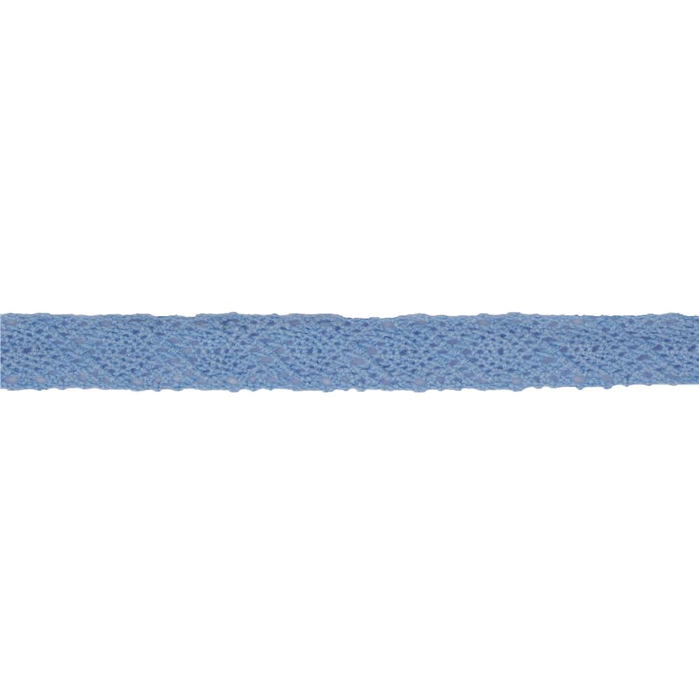 1/2'' Crochet Lace Ribbon Light Blue