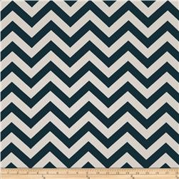 Premier Prints Zig Zag Titan/Birch Fabric