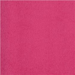Wintry Fleece Deep Pink