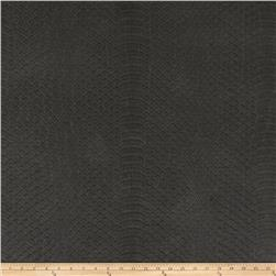 Richloom Tough Faux Leather Safari Graphite
