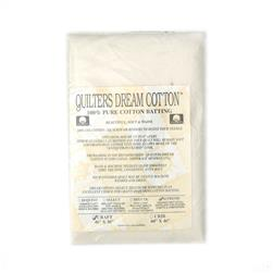 "Quilter's Dream Natural Cotton Supreme Batting (46"" x 36"") Craft"
