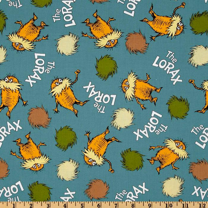 The Lorax Organic Allover Lorax Earth