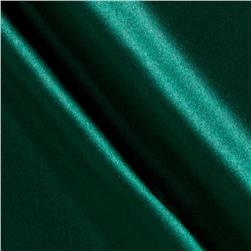 Costume Satin Hunter Green Fabric