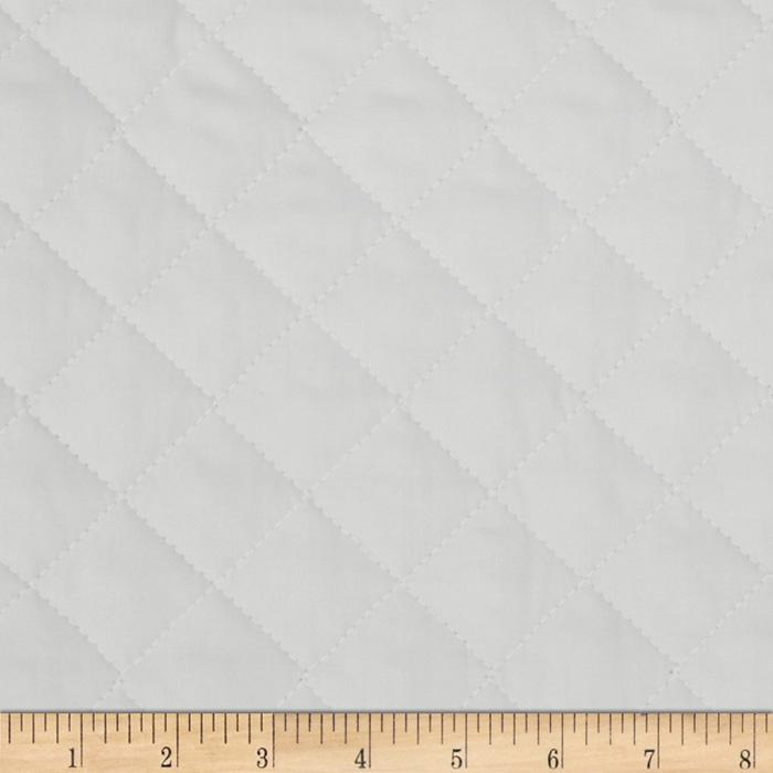 Double Sided Quilted Broadcloth Ash Grey Fabric By The Yard